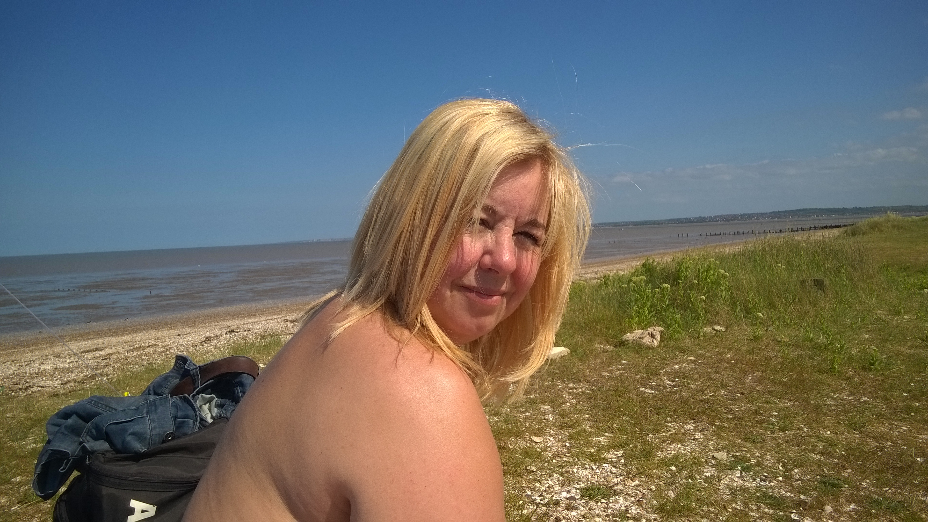 nudist beach sheppey