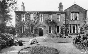 The Haworth Parsonage (c_ 1930)