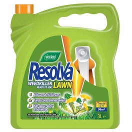 Resolva 3L ready to use lawn weed killer with spray gun - £19_99 ___