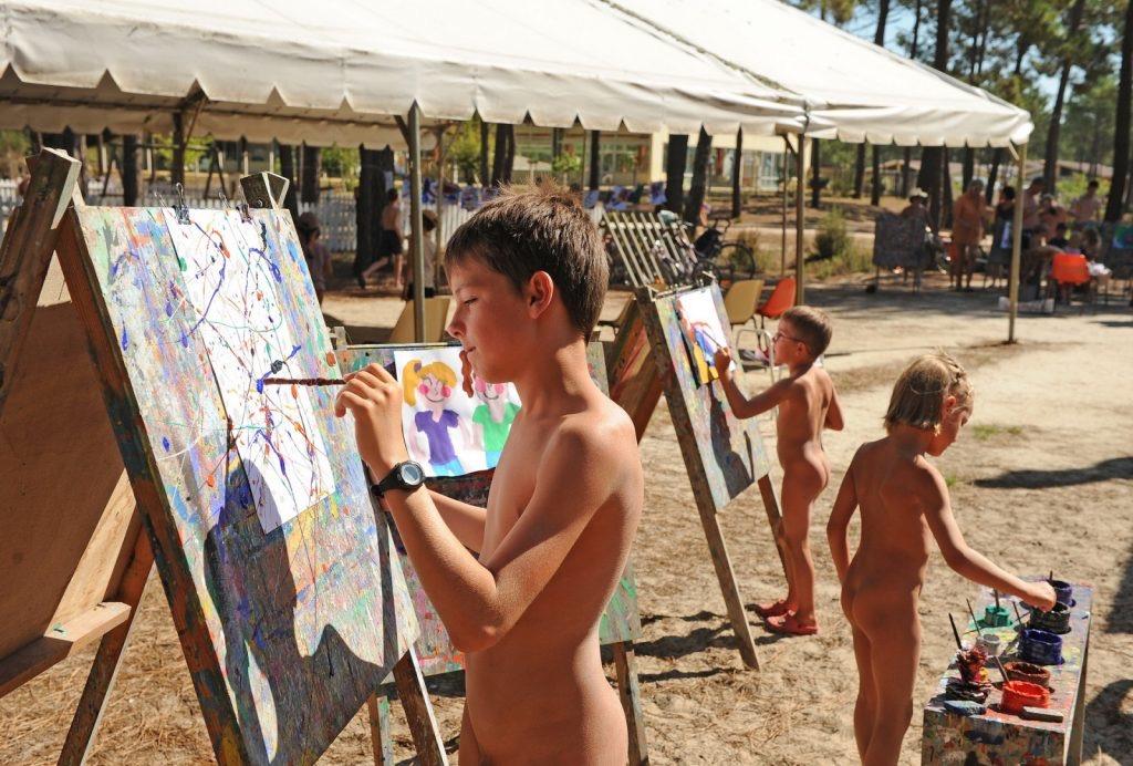 Family nudist portraits #4